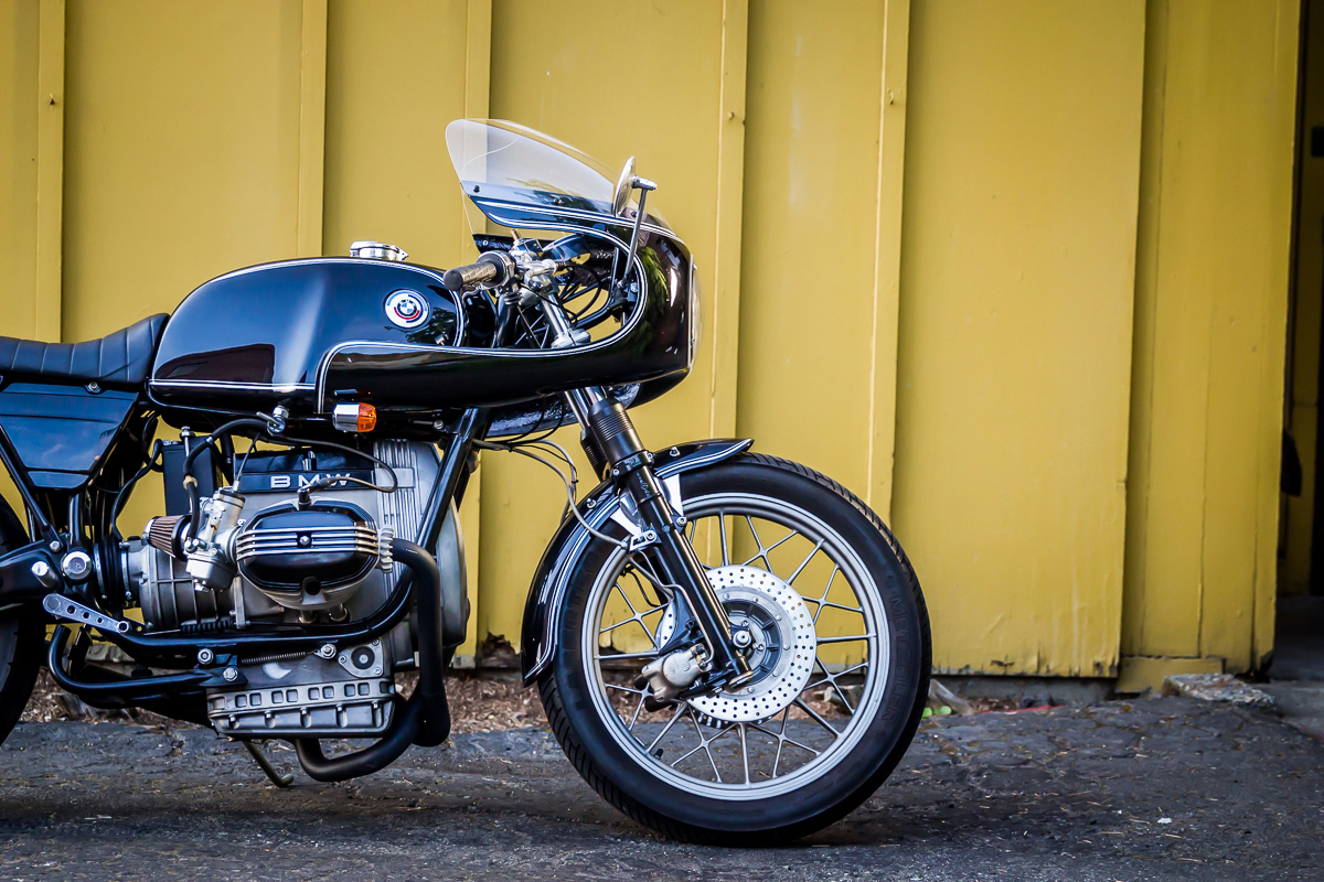 a better boxer - james' bmw r80 cafe racer ~ return of the cafe racers