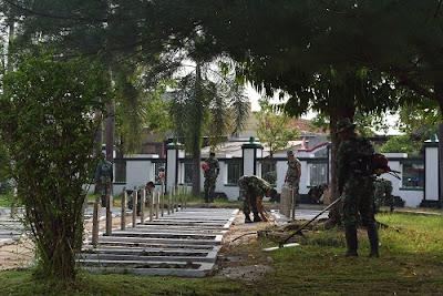 Karya Bhakti, Dua TMP Jadi Sasaran TNI