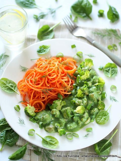 co na obiad, domowy obiad, najsmaczniejsze, lekkie danie, dieta, niskokaloryczne, mieso w sosie, kawaleczki kurczaka, zielono mi, marchewka