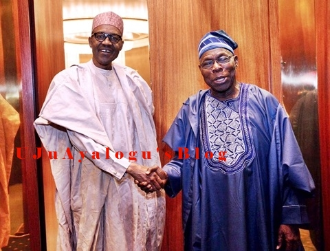 Obasanjo Warns Buhari on Abdulrasheed Maina Scandal