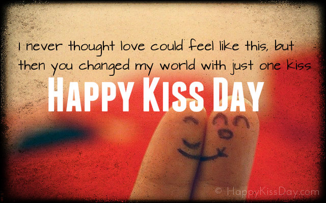 Happy Kiss Day 2017 SMS, Images, Quotes, Wallpapers