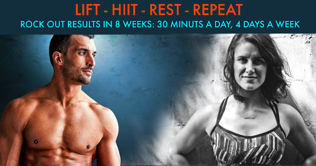 liift 4, joel freeman, hiit, lifting, home workout, summer body, summer workout, meal plan,