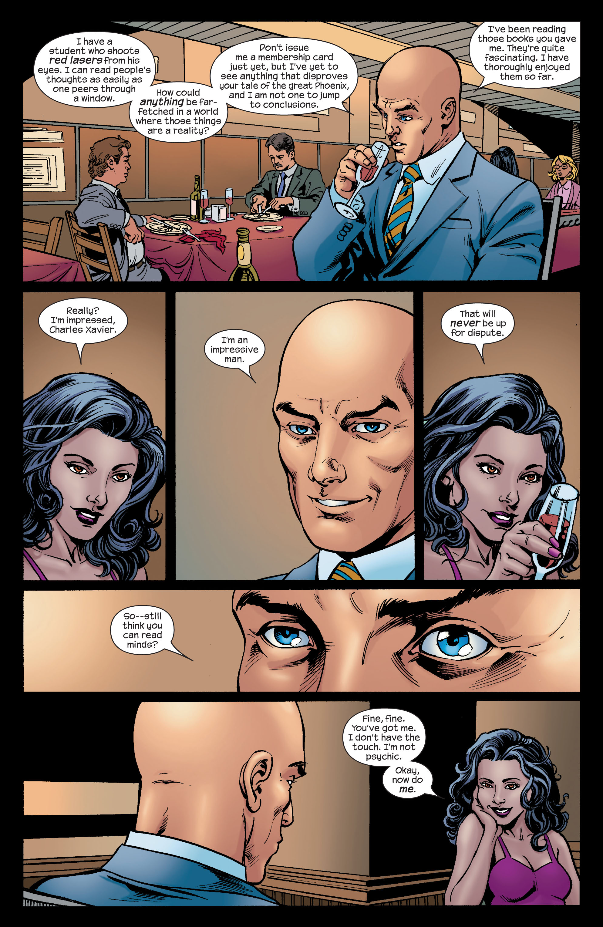 Read online Ultimate X-Men comic -  Issue #74 - 21