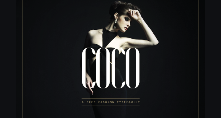 Coco free font preview