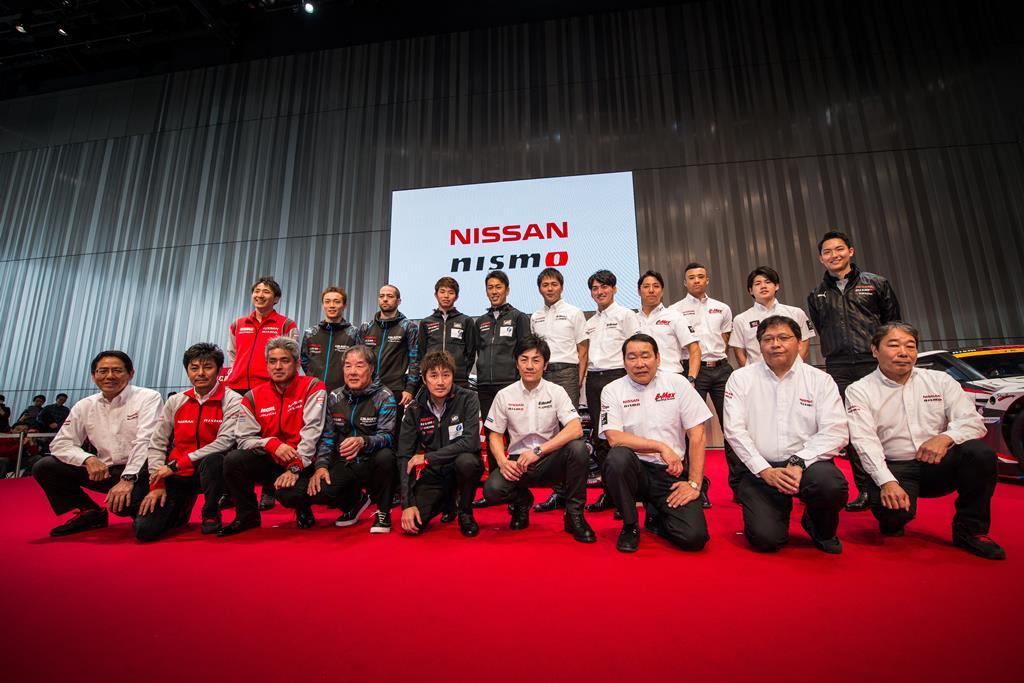 nissan NISMO2016 launch 01 rs Η Nissan / NISMO συνεχίζει δυναμικά στους αγώνες του μηχανοκίνητου αθλητισμού και το 2016 Nismo, Nissan, Rally, Super GT