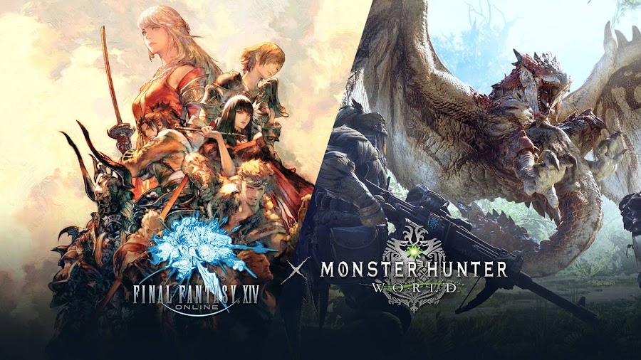 monster hunter world final fantasy xiv crossover release date