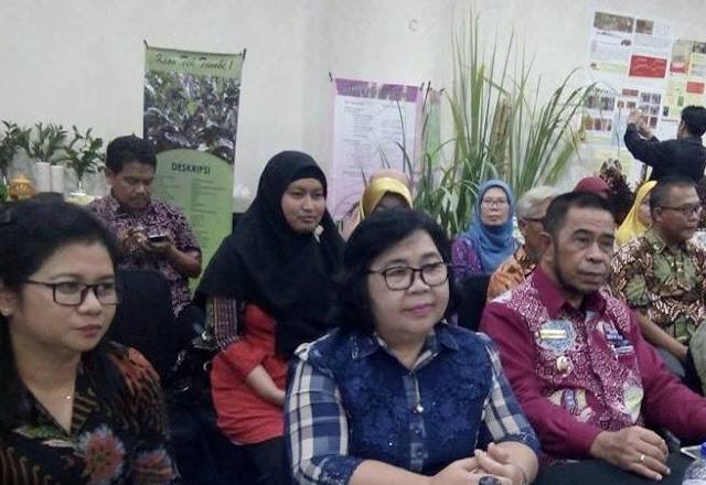 Wabup Hadiri Pelepasan, Varietas Tanaman Perkebunan 2017