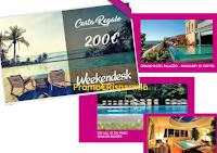 Logo Cosmopolitan: vinci gratis Gift Card weekend da 200€