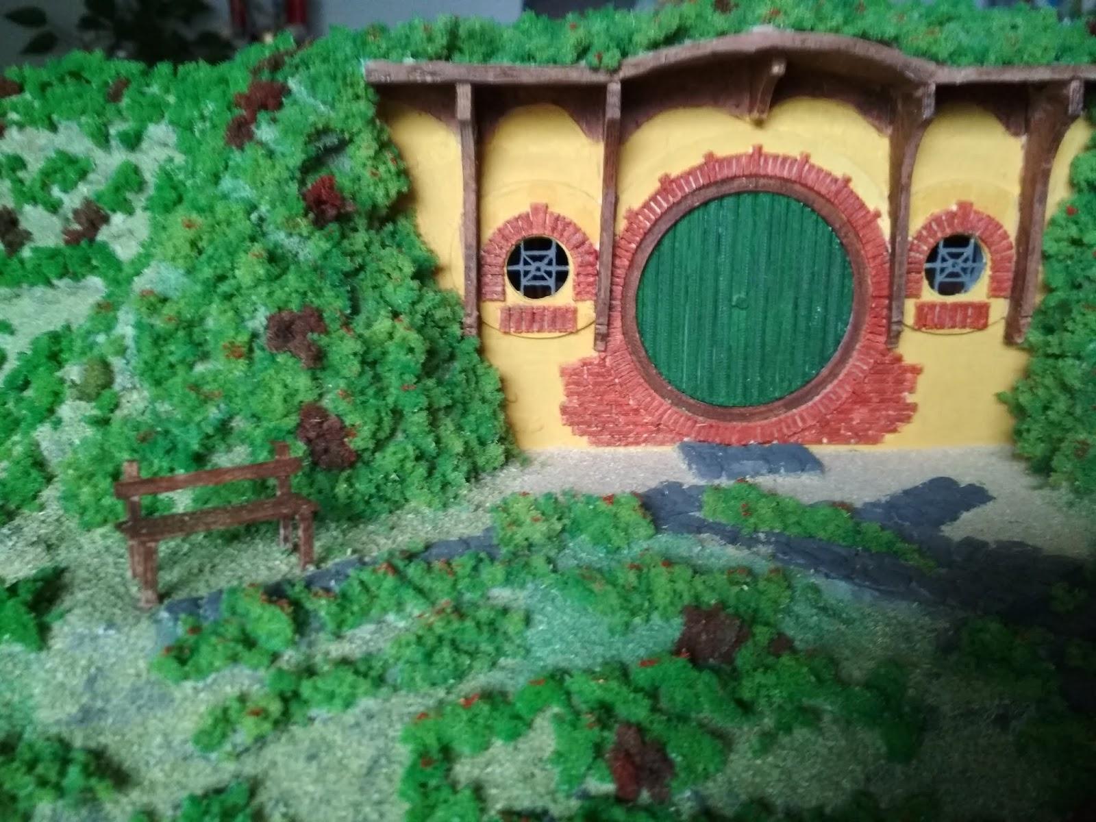 rc-graphic3d: Contea Hobbit - Casa di Bilbo Baggins