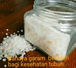 Bahaya konsumsi garam berlebihan bagi kesehatan