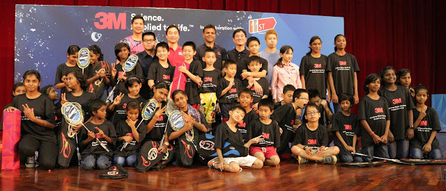 Charity Badminton Clinic by 3M and 11street