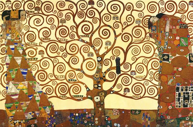 生命の樹 1905年 クリムト、官能と黄金の画家とは?クリムトの見ておきたい絵画14選【a】