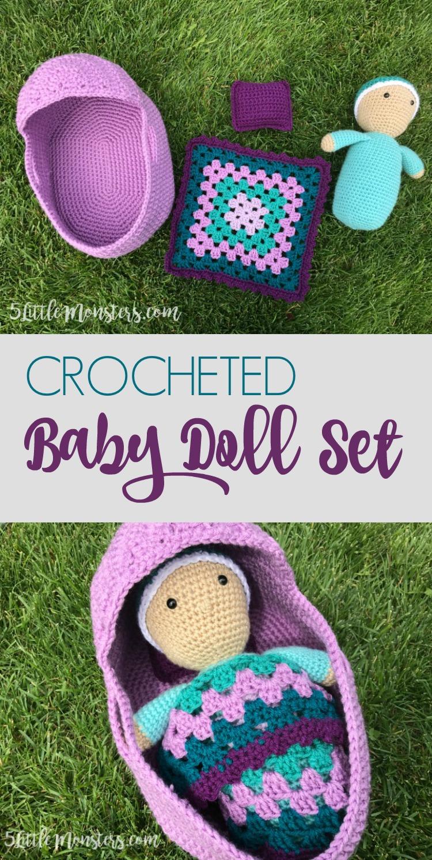 Little doll crochet / Miniature doll crochet /Part 1 / Legs and ... | 1493x750