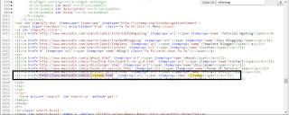 memasang sitemap pada tema atau template halaman sebuah blog