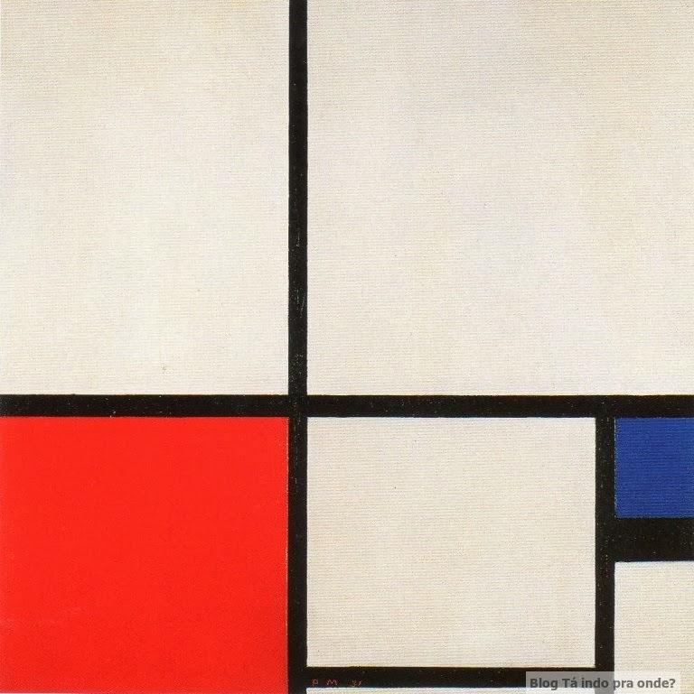 Madri - atrações clássicas e muito além do básico - Mondrian no Museu Thyssen-Bornemisza