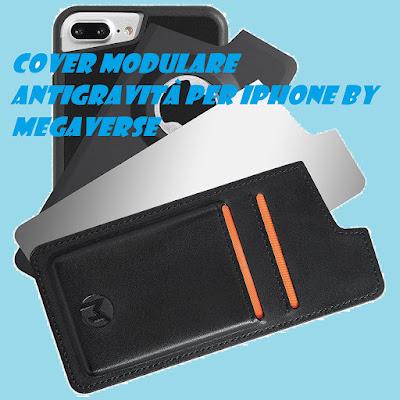 Cover modulare antigravità Megaverse per iPhone: RECENSIONE