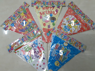 Bunting Flag HAPPY BIRTHDAY