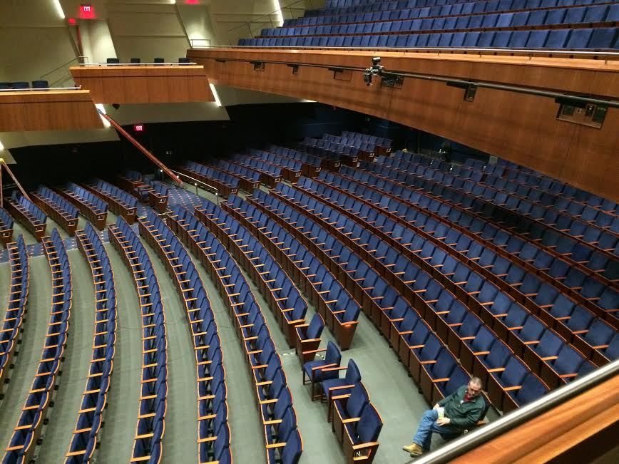 Features Robinson Auditorium Undergoes Renovation