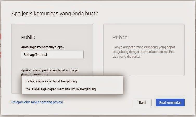 Cara Membuat Group atau Komunitas di Google Plus