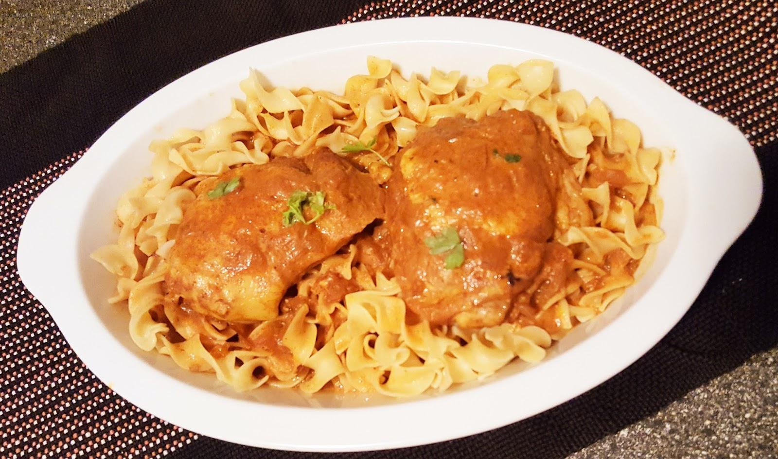 recipe: authentic chicken paprikash [33]