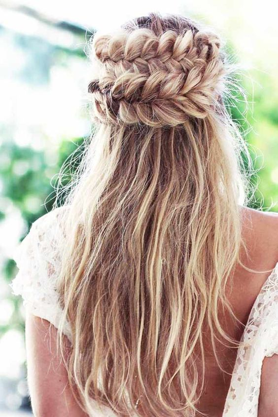 Cool Half Braided Hairstyles
