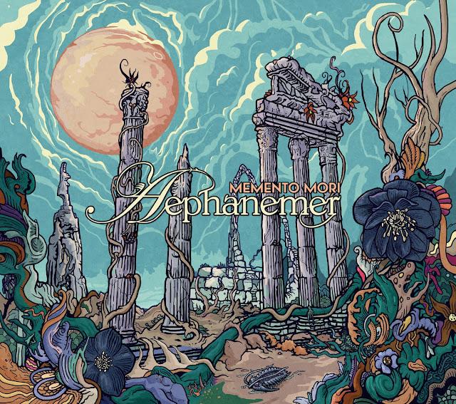 Detail from Aephanemer New Album, Memento Mori, Detail from Aephanemer New Album Memento Mori