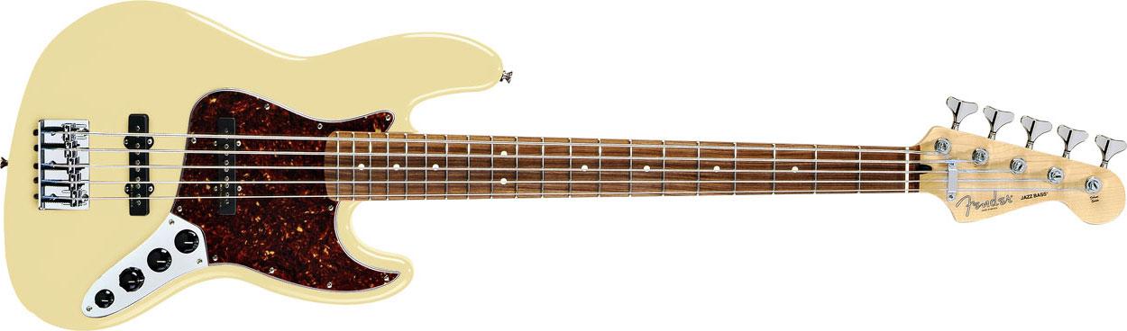 jl guitar collection fender deluxe active jazz bass v five string. Black Bedroom Furniture Sets. Home Design Ideas