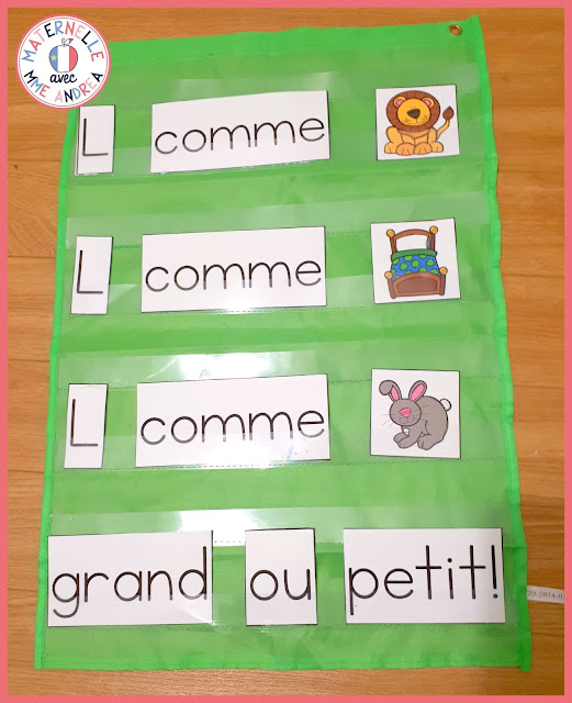Looking for a perfect activity to add to your alphabet routine in your French primary classroom? Pocket chart poems are perfect for la rentrée in maternelle and/or in première année. Check out this blog post for some tips and ideas for helping your students start the year with French pocket chart poetry!