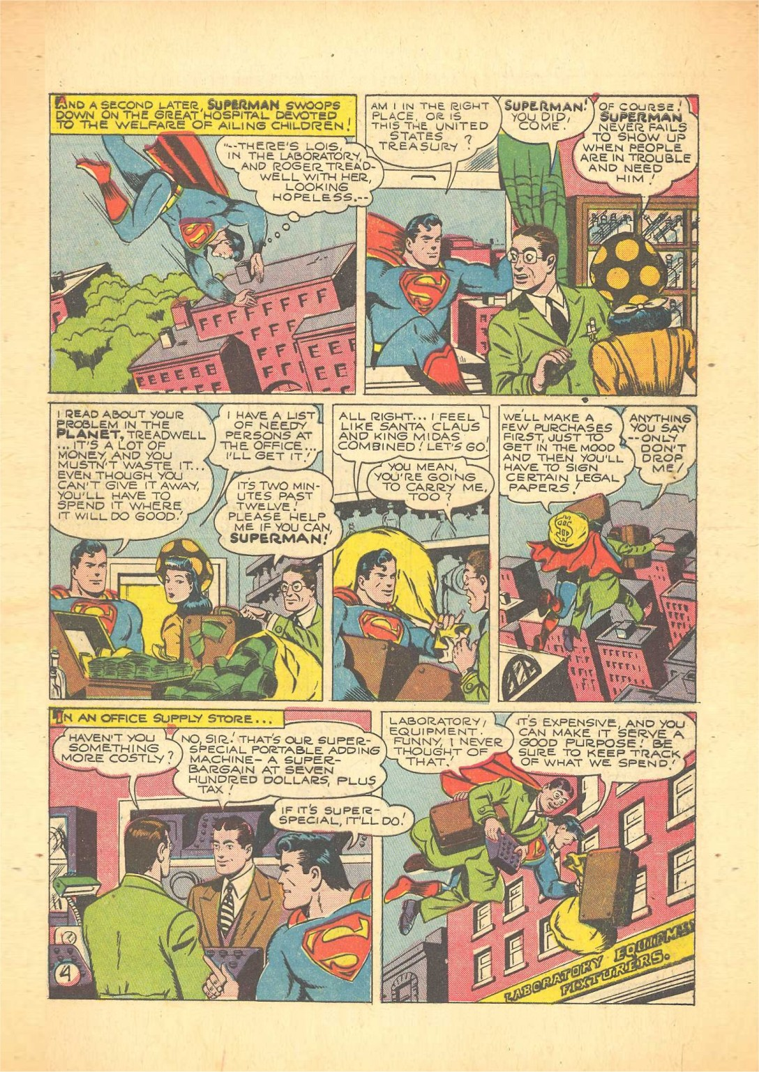 Action Comics (1938) 65 Page 5