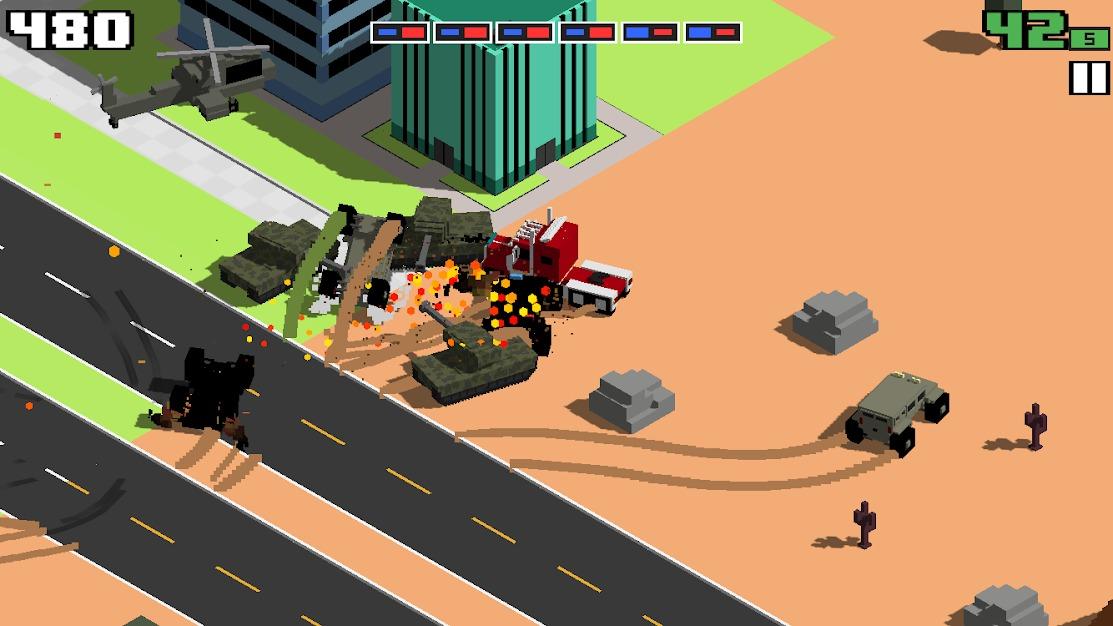 تحميل لعبة Smashy Road: Wanted 4.jpg