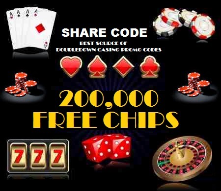 promo code doubledown casino free chips