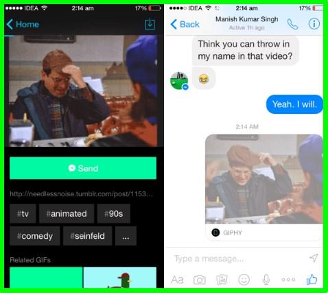what is facebook messenger app