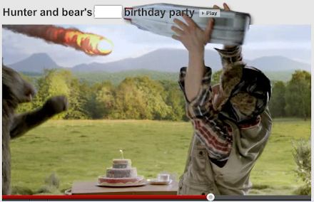Viral des Tages : Tippexperience 2 - Hunter and Bear´s 2012 Birthday Party ( 1 Endlosvideo )