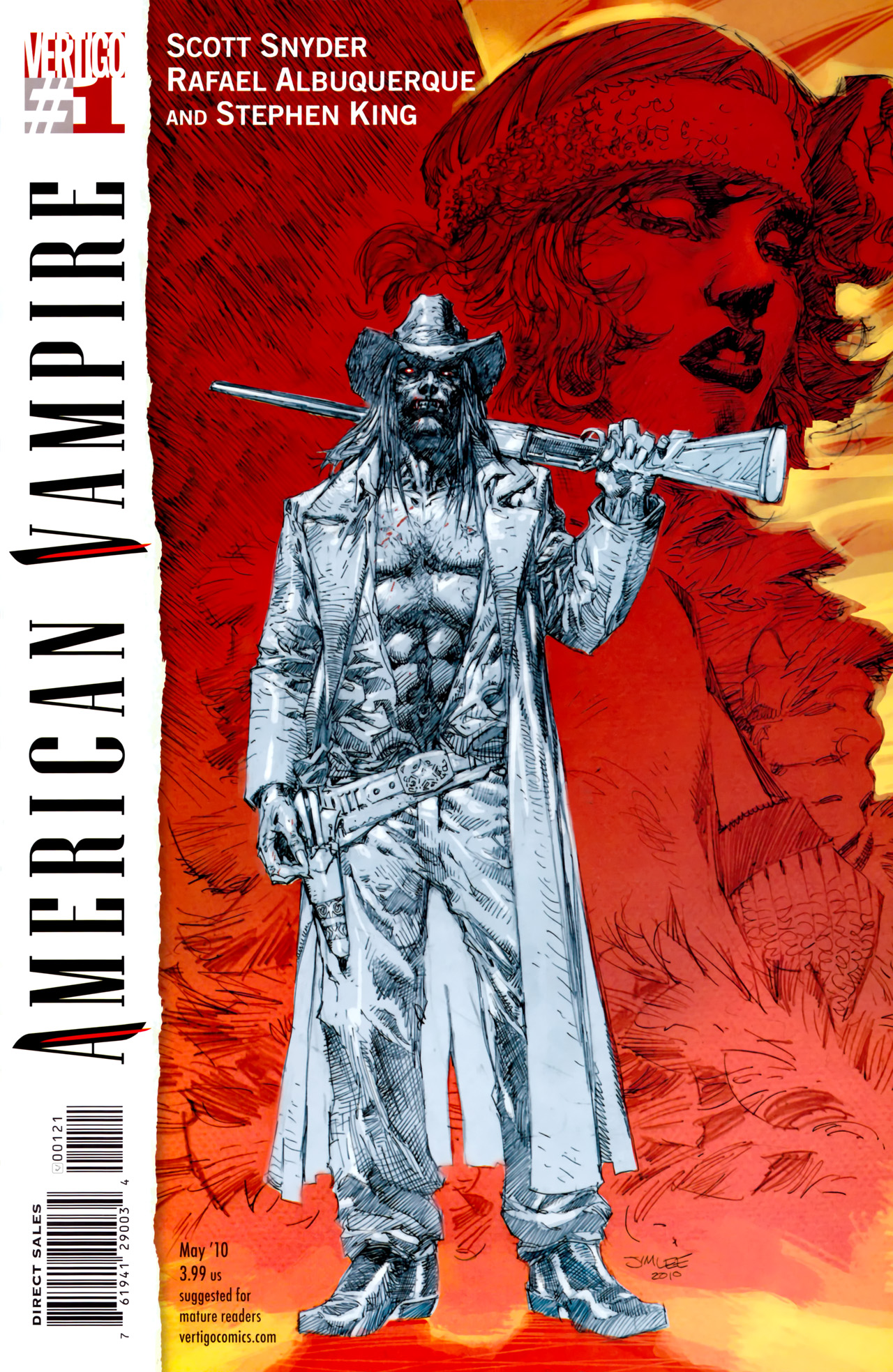 Read online American Vampire comic -  Issue #1 - 2