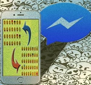 iOS: Cara Mengubah Emoji Standar di Aplikasi Facebook Messenger, Dengan Emoji Bawaan Ponsel