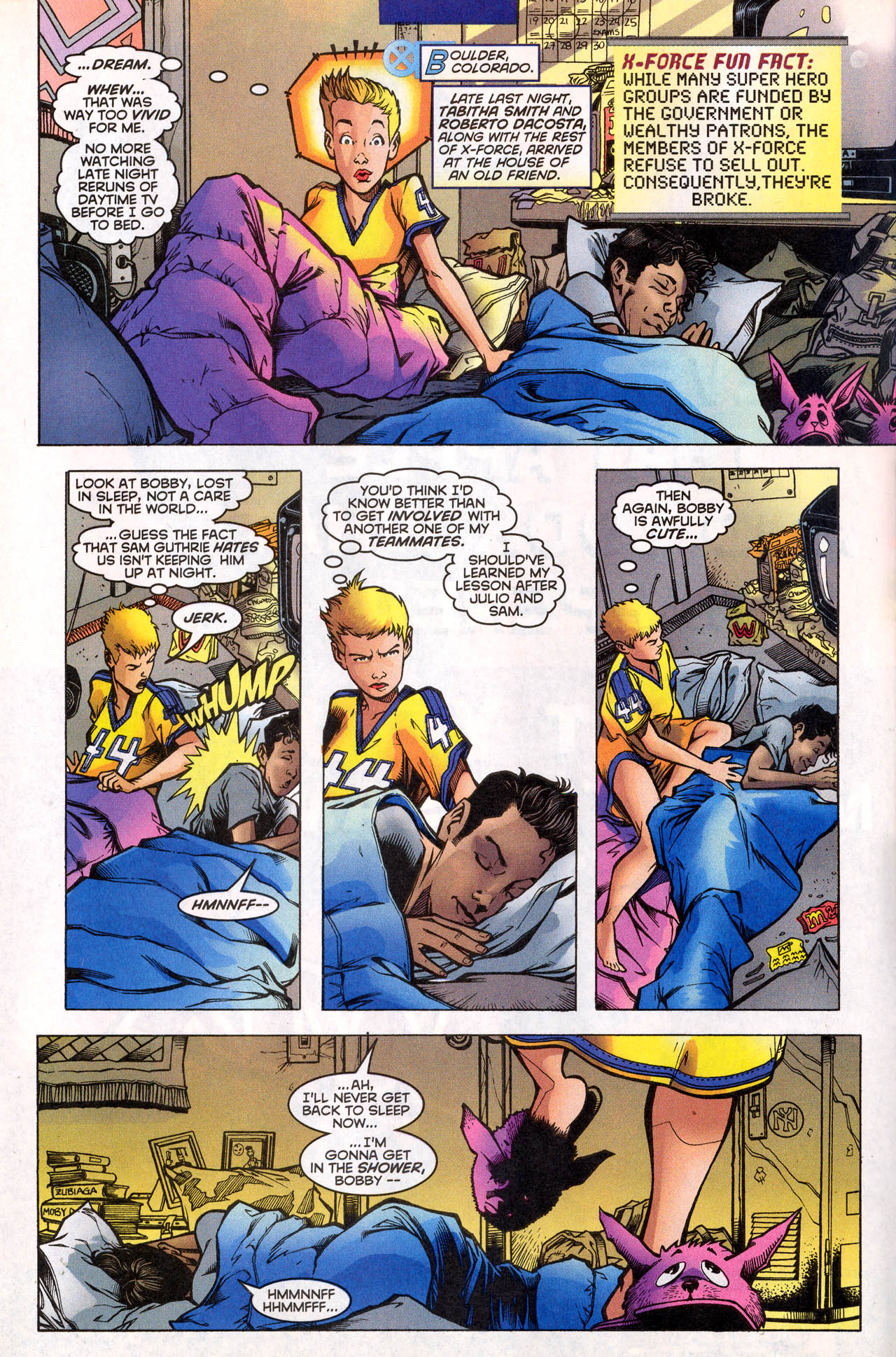 Read online X-Force (1991) comic -  Issue #78 - 9