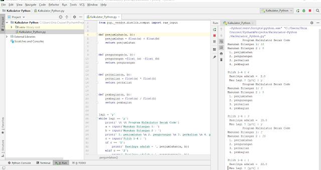 Cara Membuat Kalkulator Python Sederhana Terbaru yang Keren