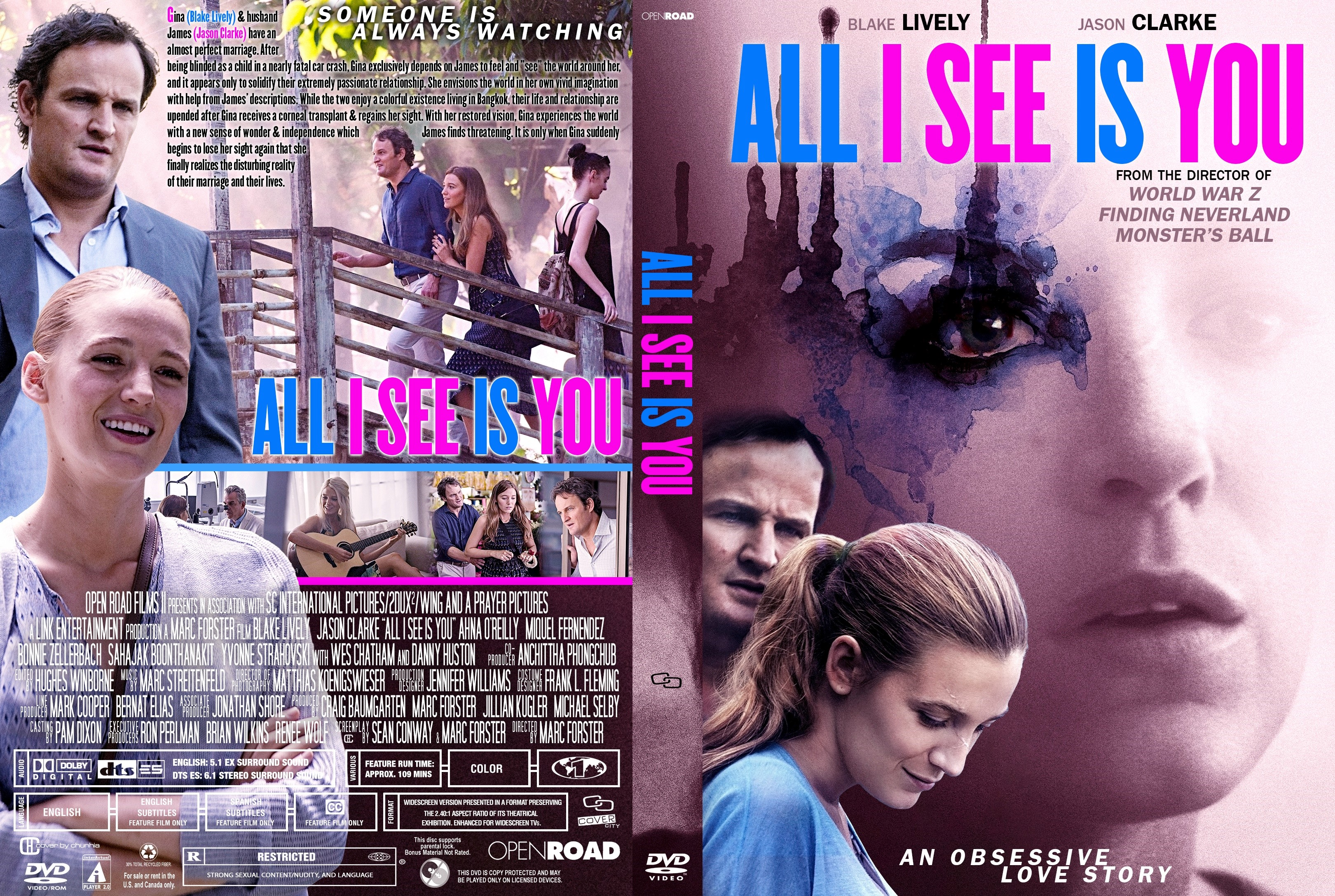 All I See Is You Dvd Cover