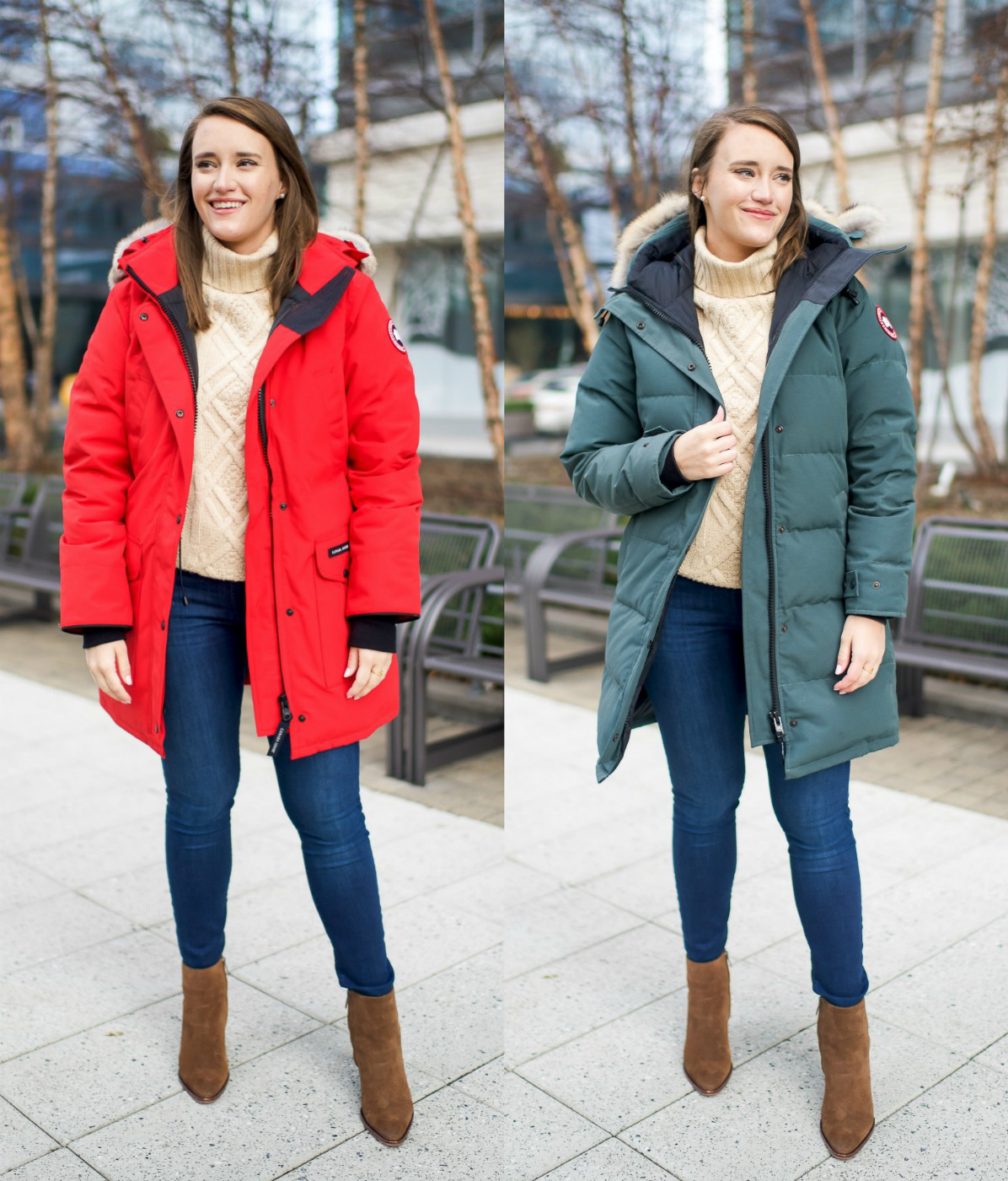 Canada Goose Review: Trillium vs Shelburne Parka | New York City Fashion and Lifestyle Blog | Covering the Bases