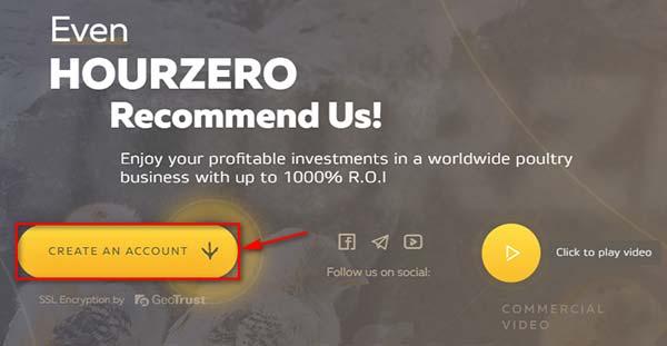 Регистрация в HourZero LTD