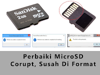100% work Mengatasi Masalah Micro SD Card Disk Write Protected, Windows unable to formatting,
