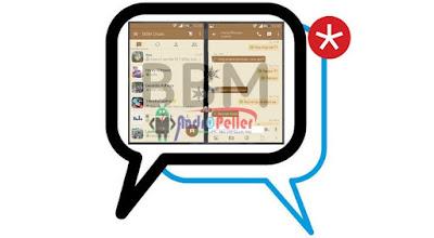 BBM MOD Tema Brown v2.13.1.14 Apk Terbaru