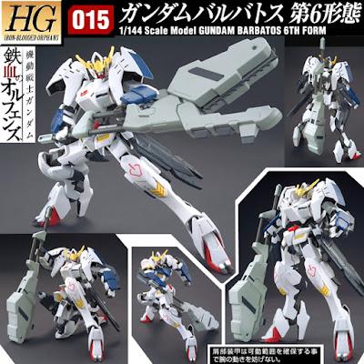 Hobbykid Hgibo 1 144 Gundam Barbatos 6th Form