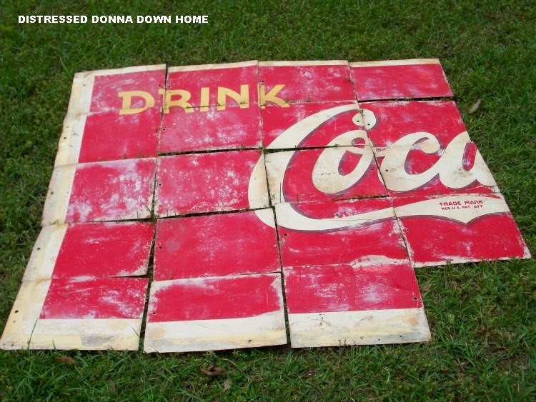 Coca-Cola sign, scoreboard. travel to Shanghai, industrial art piece