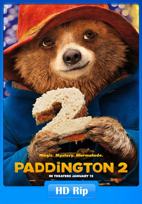 Paddington 2 2017 720p WEB-DL | 300MB 480p | 140MB HEVC Poster