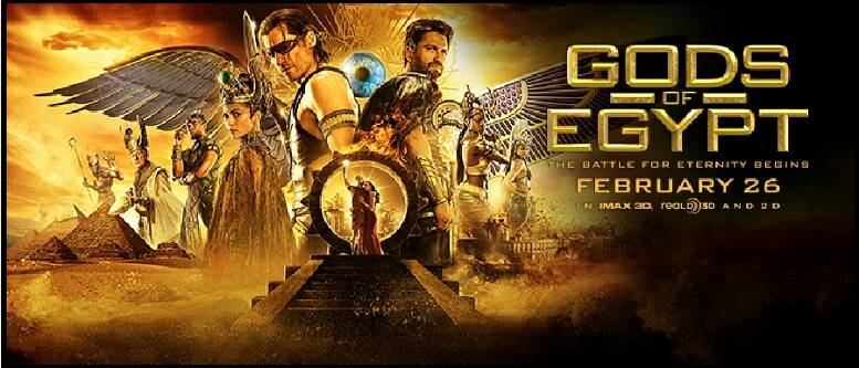 Gods of Egypt 2016 English Movie Download Free HD DVDrip