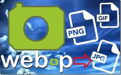 طريقة حفظ او تحميل صور بصيغة WEBP على شكل PNG او JPEG بدون برامج