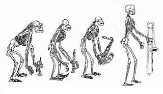 vignetta evoluzionismo