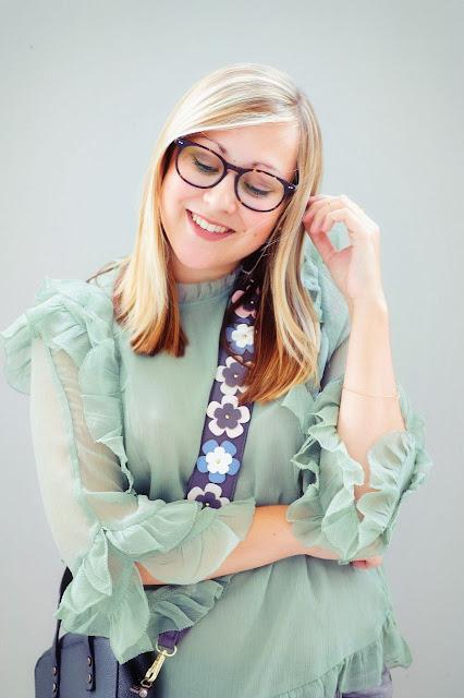 How to Mintgrün Pastellfarben kombinieren Blondine Fashion Blogger Modeblog ootd Look Outfit