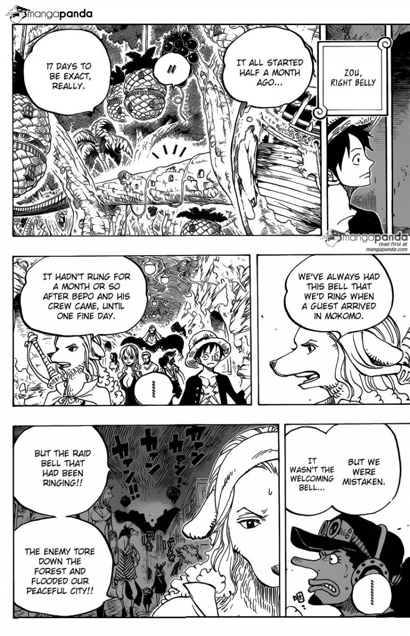 One Piece Ch 807: 010 Days Ago